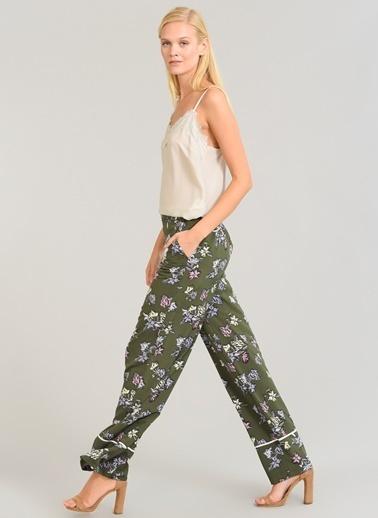 Çiçek Desenli Pantolon-People By Fabrika